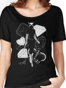 Catwoman with Jewels Women's Relaxed Fit T-Shirt
