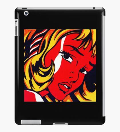 Lichtenstein - Girl with Hair Ribbon  iPad Case/Skin