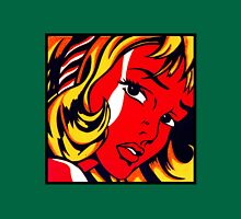 Lichtenstein - Girl with Hair Ribbon  Unisex T-Shirt