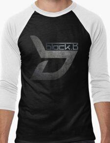 Block B T-Shirts - Black Men's Baseball ¾ T-Shirt