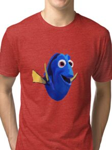 Finding Dory - Painted Design Tri-blend T-Shirt