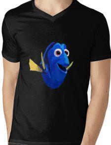 Finding Dory - Painted Design Mens V-Neck T-Shirt