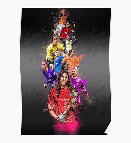 Hope Solo (From University of Washington to Seattle Reign + National Team) Poster