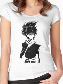 Yu Yu Hakusho #01 Women's Fitted Scoop T-Shirt