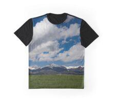 Big Sky at the Sangre de Cristo Mountains Graphic T-Shirt