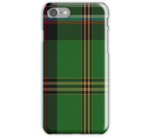 02689 Tarassow Russian Scout District Tartan  iPhone Case/Skin
