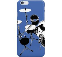 Drumkit (back view) iPhone Case/Skin