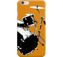 Drumkit (front view) iPhone Case/Skin