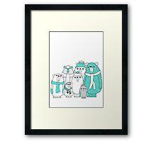 Bear Gang Framed Print