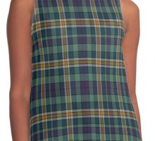 02686 Albany County, New York  Fashion Tartan  Contrast Tank