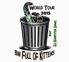 Bin Full of Kittens Tour Tshirt Unisex T-Shirt