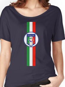 Gli Azzurri - Italy national football team  Women's Relaxed Fit T-Shirt
