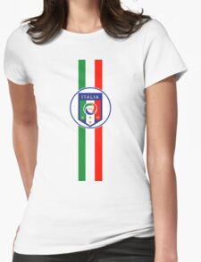 Gli Azzurri - Italy national football team  Womens Fitted T-Shirt