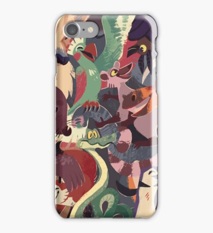 Come to the Zoo iPhone Case/Skin