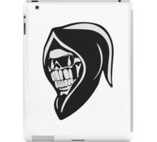 Death hooded sweatshirt angry sunglasses iPad Case/Skin