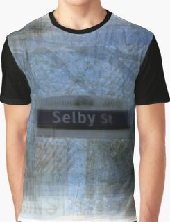Selby Street Sign Toronto Graphic T-Shirt
