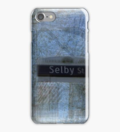 Selby Street Sign Toronto iPhone Case/Skin