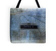 Selby Street Sign Toronto Tote Bag