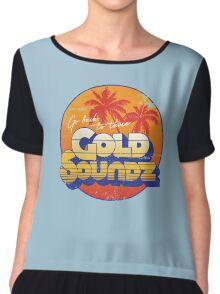 Gold Soundz Chiffon Top