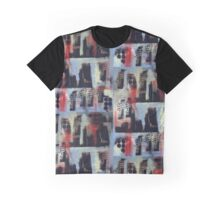 City Soul Forever - Melbourne Stencil art on canvas Graphic T-Shirt