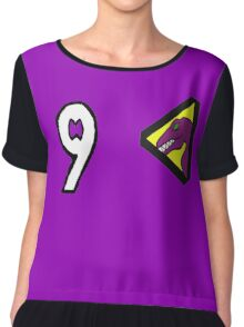 Dino Charge/Kyoryuger Purple/Violet Chiffon Top