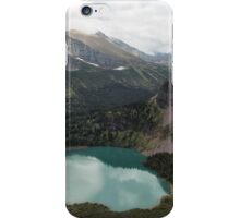 Grinnell Lake From The Trail No. 2 - Glacier Np iPhone Case/Skin