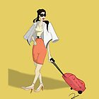 Business Woman Pin-Up by DDlocks