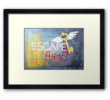 Escape Artist Framed Print