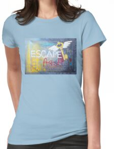 Escape Artist Womens Fitted T-Shirt