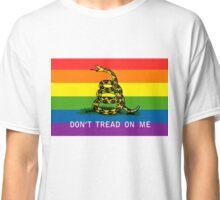 Gadsden Gay Pride Flag Classic T-Shirt