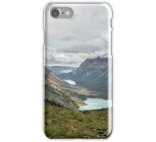 Three Lakes Viewed from Grinnell Glacier iPhone Case/Skin
