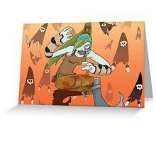 Goblyn postcard D Greeting Card