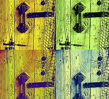 Door Squared  by Jean Poulton