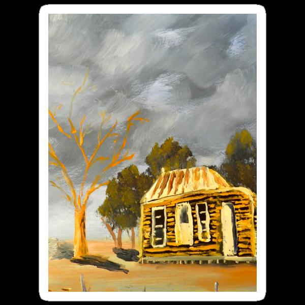 Deserted Castlemain Farmhouse by PamelaMeredith