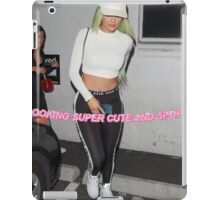 Kylie Jenner Glitter Text (XL) iPad Case/Skin