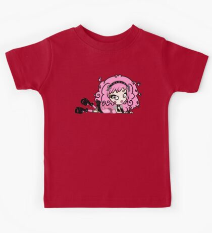 Cotton Candy Girl 2 by Lolita Tequila Kids Tee