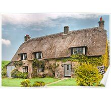 Dorset Cottage . Poster