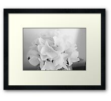 Wedding Flower Framed Print
