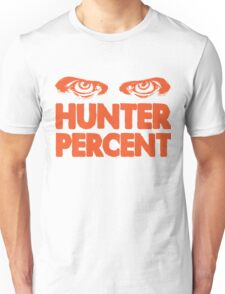 Hunter Percent (Orange Version) T-Shirt