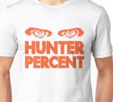Hunter Percent (Orange Version) Unisex T-Shirt
