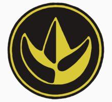 Mighty Morphin Power Rangers Green Ranger Symbol Kids Tee
