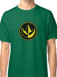 Mighty Morphin Power Rangers Green Ranger Symbol Classic T-Shirt
