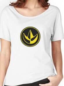 Mighty Morphin Power Rangers Green Ranger Symbol Women's Relaxed Fit T-Shirt