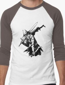 The Abysswatcher Men's Baseball ¾ T-Shirt