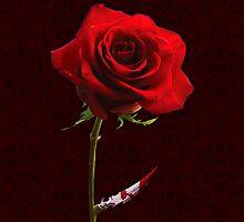 Deadly Red Rose by Boriana Giormova