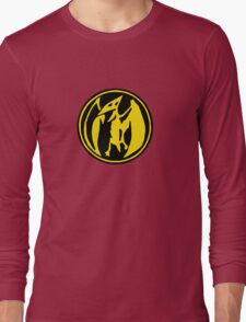 Mighty Morphin Power Rangers Pink Ranger Symbol Long Sleeve T-Shirt