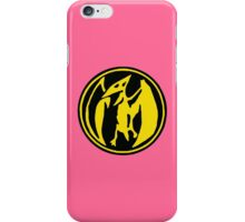 Mighty Morphin Power Rangers Pink Ranger Symbol iPhone Case/Skin
