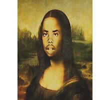Earl Sweatshirt Mona Lisa Photographic Print