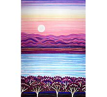 PERFECT PASTELS - Sunset Moon Photographic Print