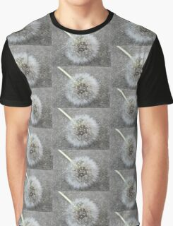 Flowers & Concrete Graphic T-Shirt